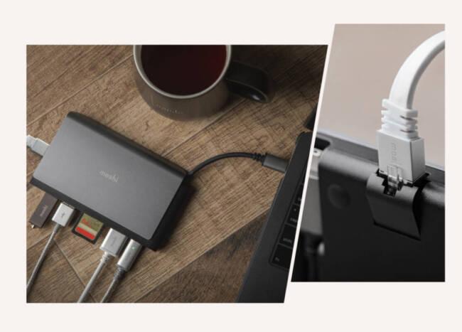 Moshi Symbus Mini 7-in-1 Portable USB-C Hub